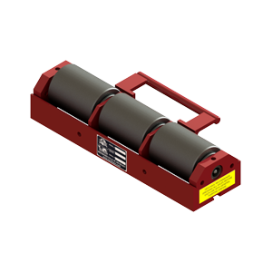 9 ton capacity beam mover skate steel roller dolly br 3
