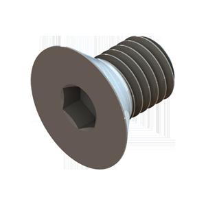 H-FCS-00075 Flat Head Socket Cap Screw 3/4in - Hevi-Haul Machinery Skate Hardware