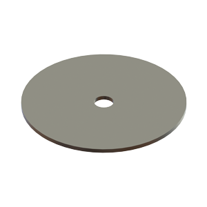 H-00LFP Large Friction Plate - Hevi-Haul Machinery Skate Hardware