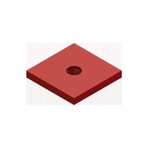 H-00SSP Small Swivel Plate - Hevi-Haul Machinery Skate Hardware