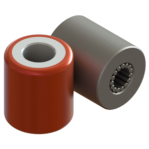 Hevi-Haul Machinery Skate Rollers & Bearings - Steel & Polyurethane Coated