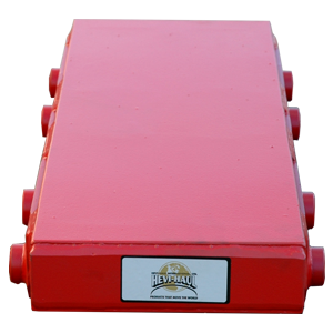 custom modified BB 100 40 Ton capacity machinery skate