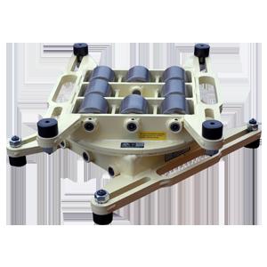 custom modified HM 50 Ton Capacity machinery skate