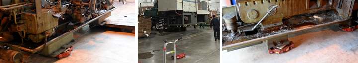 Moving Industrial Machines with Hevi-Haul Machinery Skates/Dollies
