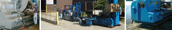 Hevi-Haul Machinery Skates in Use - Made in the USA