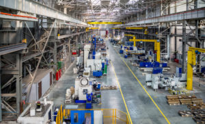 view of factory floor
