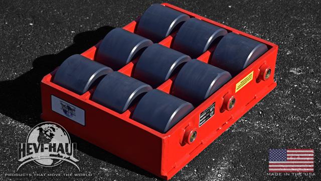 custom nylon rollers 22 ton capacity machinery skate