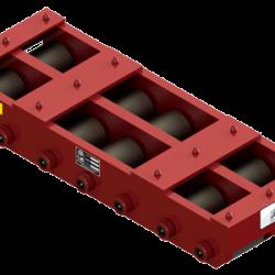 100 ton capacity rigid machinery skate steel roller dolly tdm 200 a