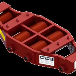 20 ton capacity rigid machinery skate polyurethane roller dolly um hd 75 p a