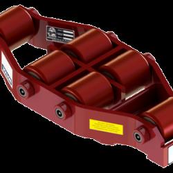 20 ton capacity rigid machinery skate polyurethane roller dolly um hd 75 p b