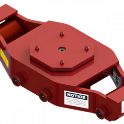 20 ton capacity swivel machinery skate polyurethane roller dolly ums hd 75 p a