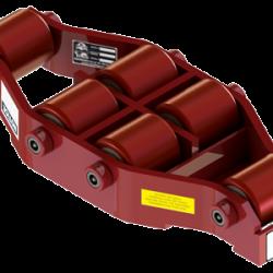 20 ton capacity swivel machinery skate polyurethane roller dolly ums hd 75 p b
