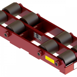 25 ton capacity rigid machinery skate steel roller dolly sd 50 b