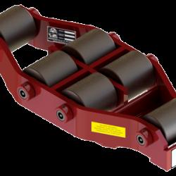 25 ton capacity rigid machinery skate steel roller dolly um hd 50 b