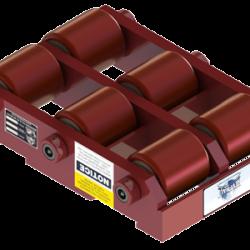 30 ton capacity rigid machinery skate polyurethane roller dolly st 1060 p b