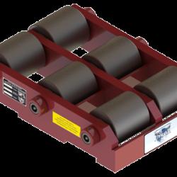 30 ton capacity rigid machinery skate steel roller dolly st 1060 b