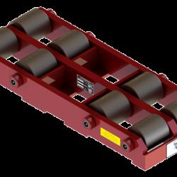50 ton capacity rigid machinery skate steel roller dolly bb 100 b