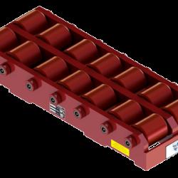 55 ton capacity rigid machinery skate polyurethane roller dolly tdm 200 p b