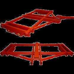 custom modified 30 ton capacity coil transport skate system 26206