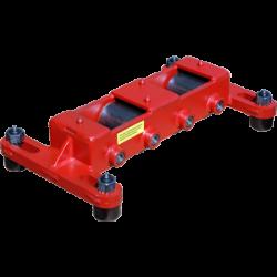 custom modified TDM 475 ton capacity machinery skate